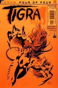 Cover Thumbnail for Tigra (Marvel, 2002 series) #4