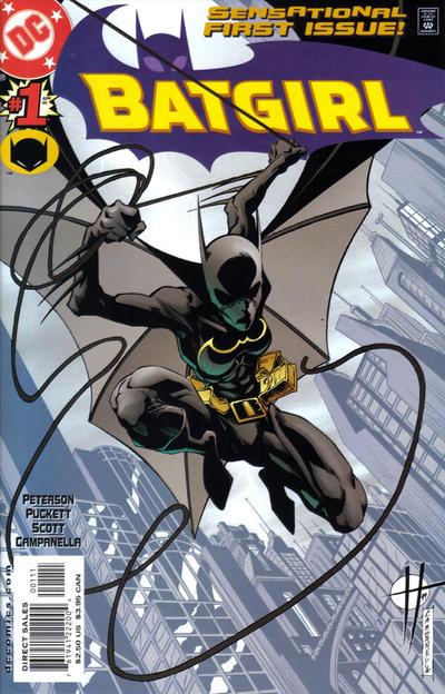 Cover for Batgirl (DC, 2000 series) #1