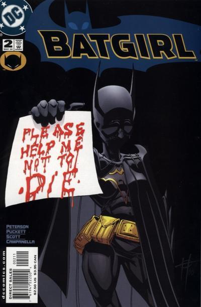 Cover for Batgirl (DC, 2000 series) #2