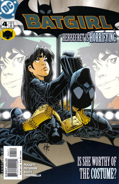 Cover for Batgirl (DC, 2000 series) #4