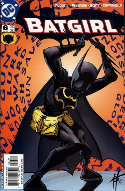 Cover for Batgirl (DC, 2000 series) #6