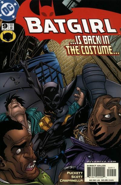 Cover for Batgirl (DC, 2000 series) #9