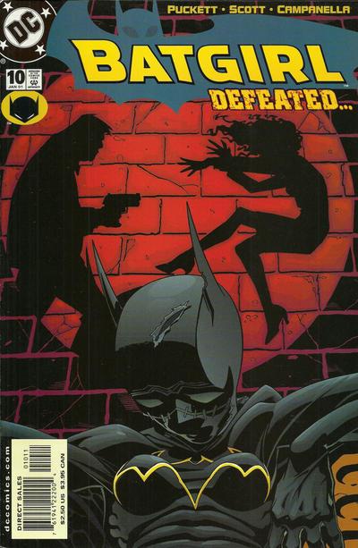 Cover for Batgirl (DC, 2000 series) #10