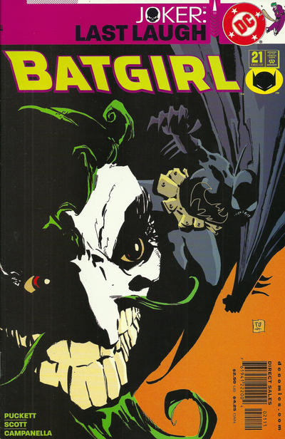 Cover for Batgirl (DC, 2000 series) #21