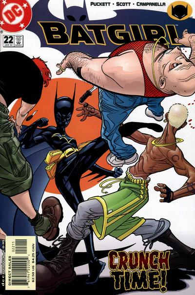 Cover for Batgirl (DC, 2000 series) #22