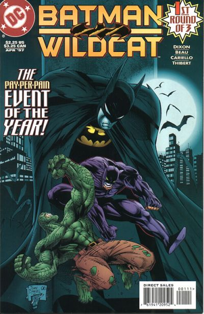Cover for Batman / Wildcat (DC, 1997 series) #1