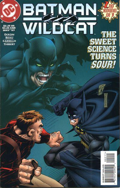 Cover for Batman / Wildcat (DC, 1997 series) #2
