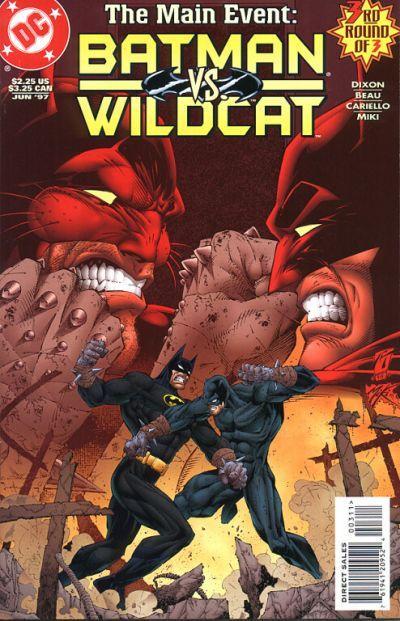 Cover for Batman / Wildcat (DC, 1997 series) #3