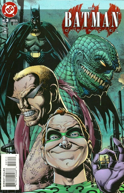 Cover for The Batman Chronicles (DC, 1995 series) #3
