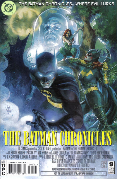 Cover for The Batman Chronicles (DC, 1995 series) #9
