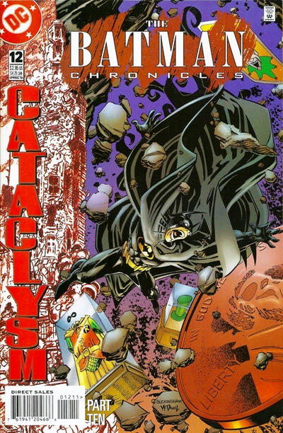 Cover for The Batman Chronicles (DC, 1995 series) #12