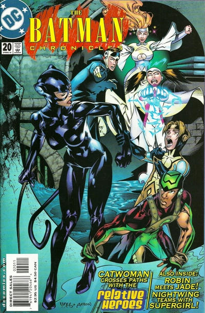 Cover for The Batman Chronicles (DC, 1995 series) #20