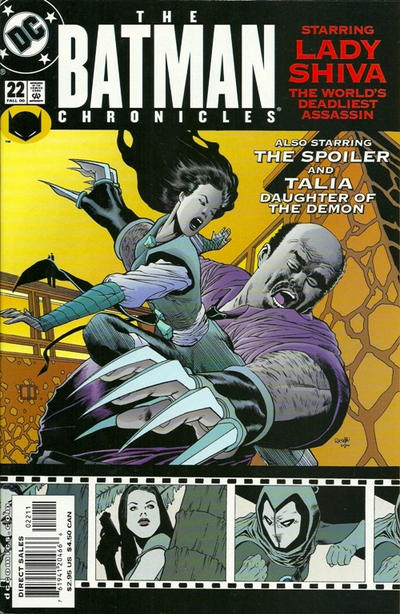 Cover for The Batman Chronicles (DC, 1995 series) #22