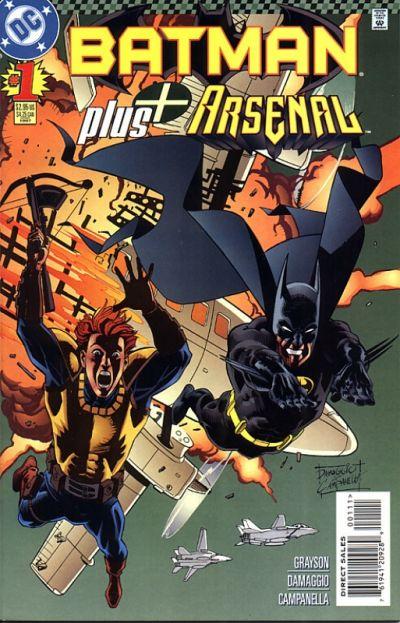 Cover for Batman Plus (DC, 1997 series) #1