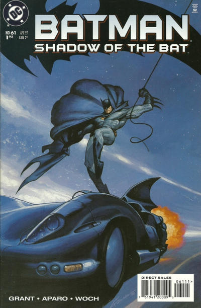 Cover for Batman: Shadow of the Bat (DC, 1992 series) #61