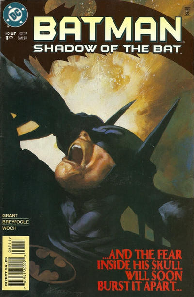 Cover for Batman: Shadow of the Bat (DC, 1992 series) #67