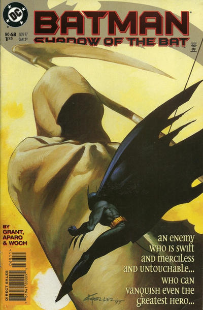 Cover for Batman: Shadow of the Bat (DC, 1992 series) #68 [Newsstand]