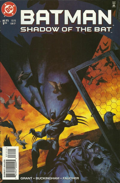 Cover for Batman: Shadow of the Bat (DC, 1992 series) #71 [Direct Edition]