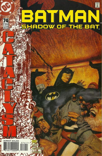Cover for Batman: Shadow of the Bat (DC, 1992 series) #74