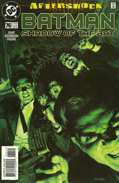 Cover for Batman: Shadow of the Bat (DC, 1992 series) #76