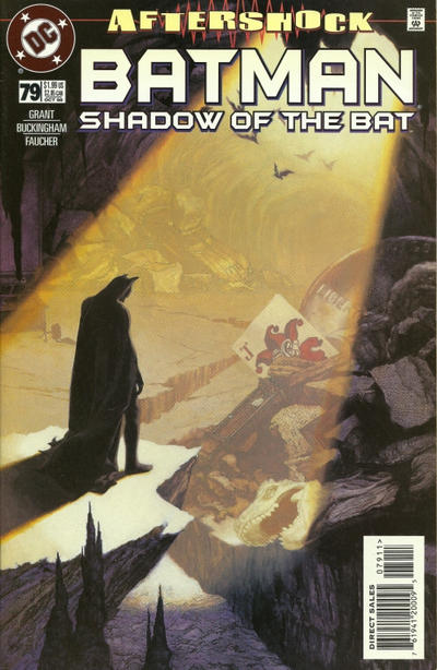 Cover for Batman: Shadow of the Bat (DC, 1992 series) #79