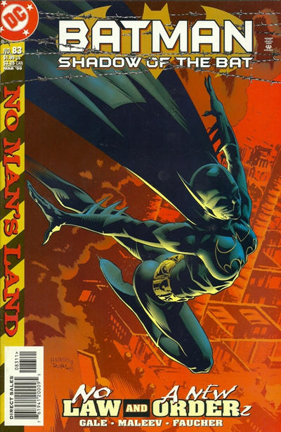 Cover for Batman: Shadow of the Bat (DC, 1992 series) #83