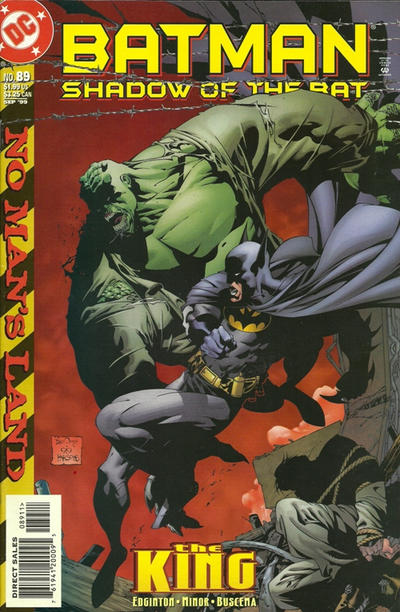 Cover for Batman: Shadow of the Bat (DC, 1992 series) #89