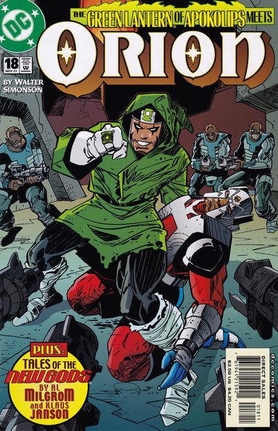 Cover for Orion (DC, 2000 series) #18