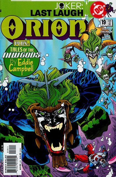 Cover for Orion (DC, 2000 series) #19