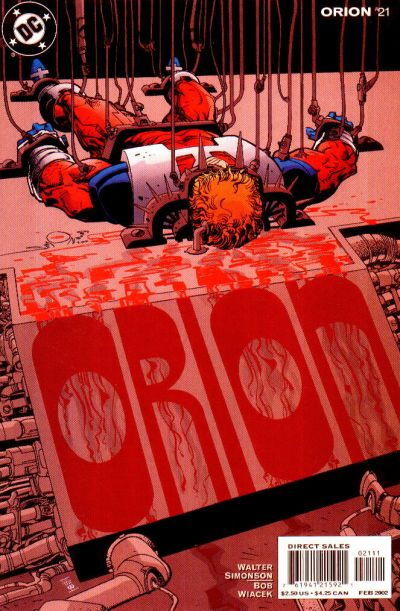 Cover for Orion (DC, 2000 series) #21