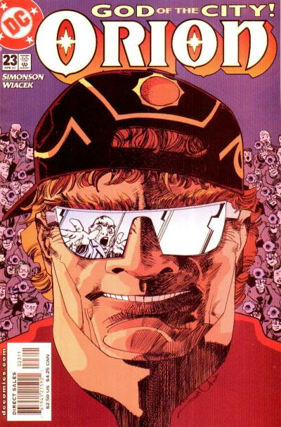 Cover for Orion (DC, 2000 series) #23