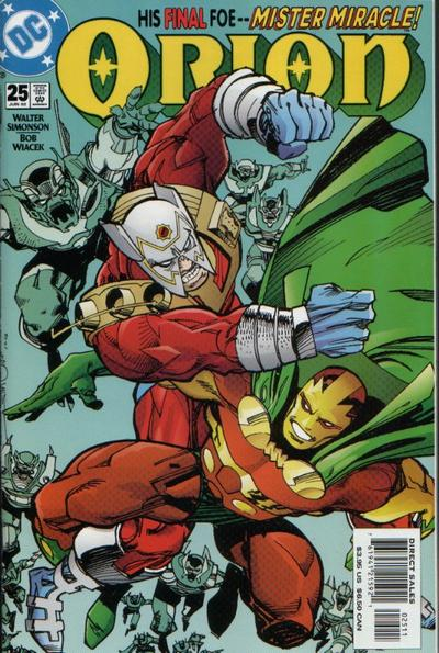 Cover for Orion (DC, 2000 series) #25