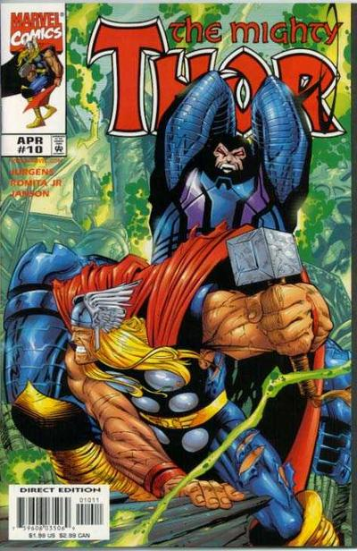 Cover for Thor (Marvel, 1998 series) #10