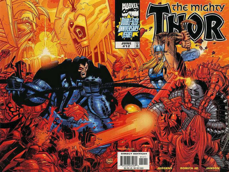 Cover for Thor (Marvel, 1998 series) #12