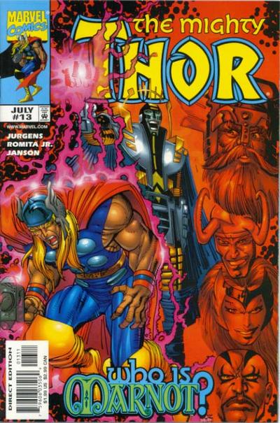 Cover for Thor (Marvel, 1998 series) #13