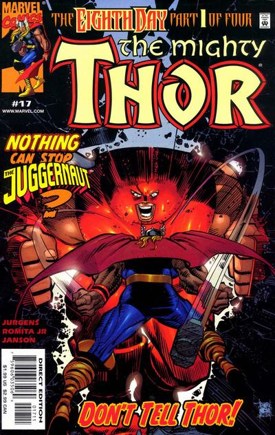 Cover for Thor (Marvel, 1998 series) #17