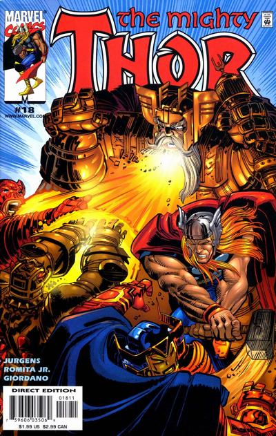 Cover for Thor (Marvel, 1998 series) #18