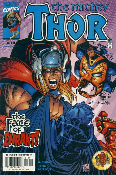 Cover for Thor (Marvel, 1998 series) #19