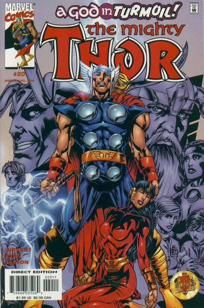 Cover for Thor (Marvel, 1998 series) #20