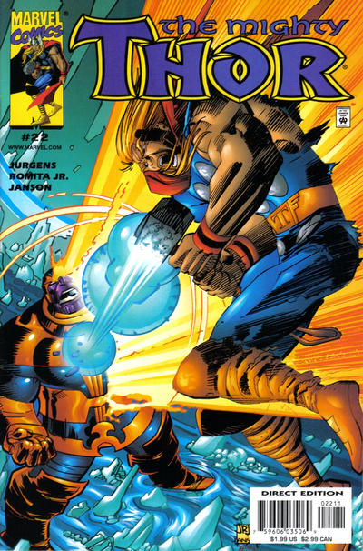 Cover for Thor (Marvel, 1998 series) #22