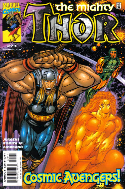 Cover for Thor (Marvel, 1998 series) #23