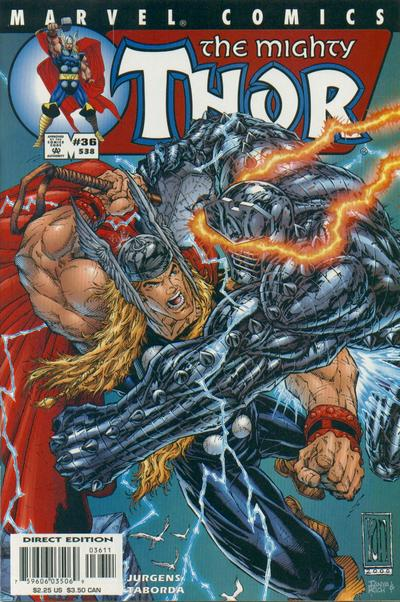Cover for Thor (Marvel, 1998 series) #36 (538)