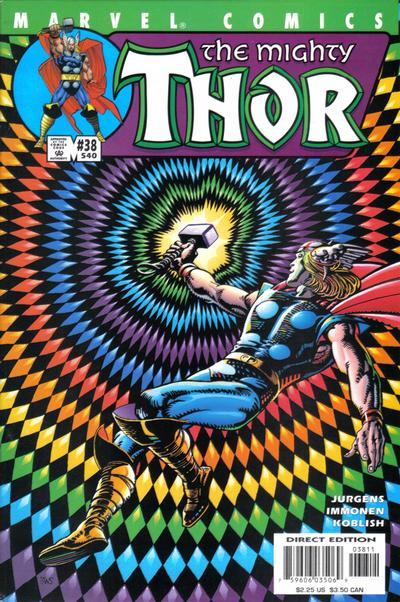 Cover for Thor (Marvel, 1998 series) #38 (540)