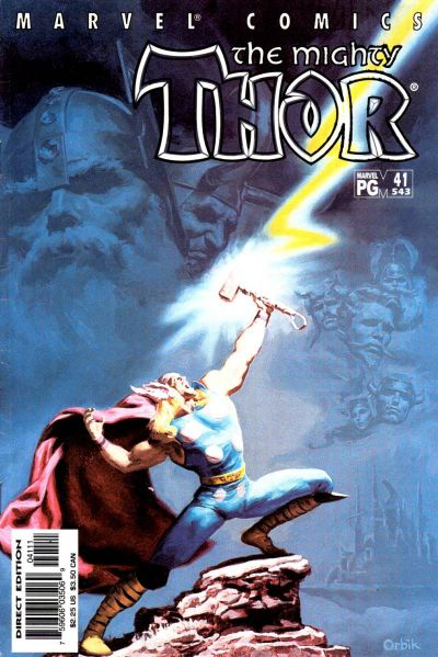 Cover for Thor (Marvel, 1998 series) #41 (543)