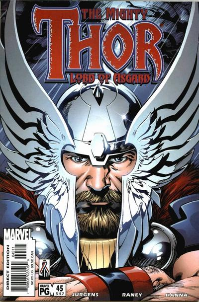 Cover for Thor (Marvel, 1998 series) #45 (547)