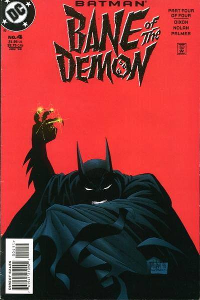 Cover for Batman: Bane of the Demon (DC, 1998 series) #4