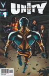 Cover for Unity (Valiant Entertainment, 2013 series) #1 [Cover B - Pullbox Exclusive - J. G. Jones]