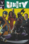Cover for Unity (Valiant Entertainment, 2013 series) #1 [Cover D - Pullbox Exclusive - Paolo Rivera]