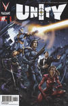 Cover for Unity (Valiant Entertainment, 2013 series) #1 [Cover E - Pullbox Exclusive - Clayton Crain]