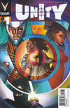 Cover for Unity (Valiant Entertainment, 2013 series) #1 [Cover F - Pullbox Exclusive - Travel Foreman]